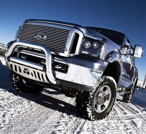 recon smoked projector headlights ford superduty