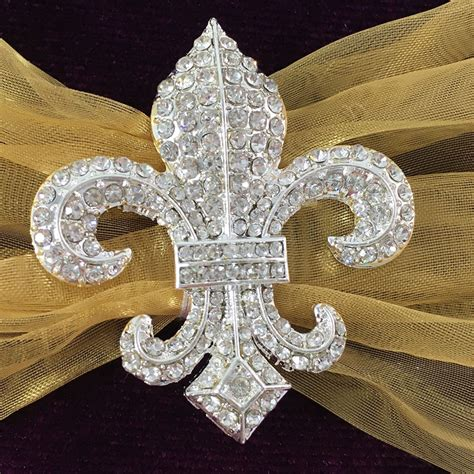 royal purple velvet fleur de lis embellished invitation
