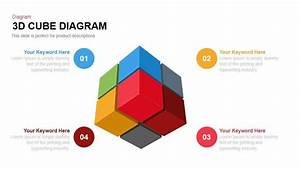 3d Cube Diagram Powerpoint Template And Keynote Slide