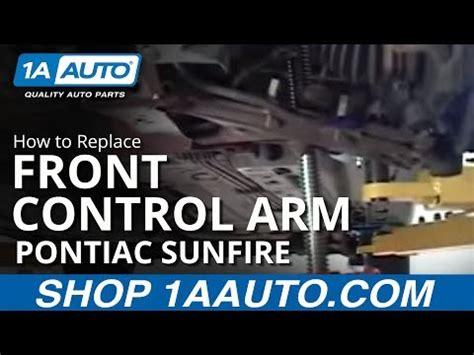 How Install Replace Front Control Arm Pontiac Sunfire