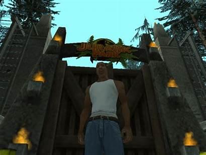 Gate Jurassic Park Gta Sa Mod San