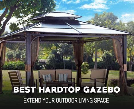 Best Hardtop Gazebo Reviews   OutdoorMancave.com