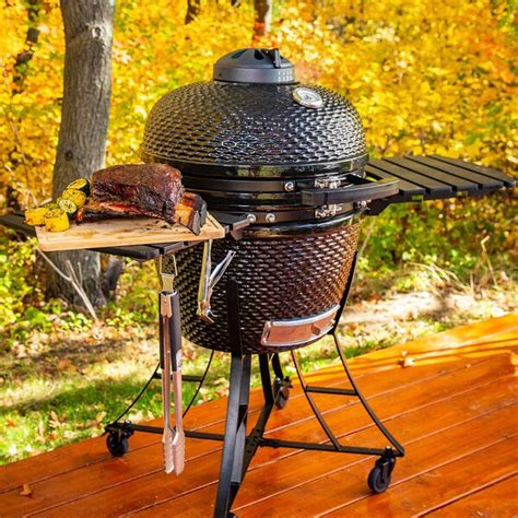 """The following purchase apr is accurate as of 09/11/2020 and will vary: Pit Boss 19.5"""" Kamado Charcoal Grill with Smoker & Reviews"""