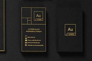 8 best images of black on black business cards black and for Award winning business card designs
