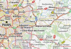 Meteo Marnes La Vallée : carte d taill e marne la vall e plan marne la vall e ~ Farleysfitness.com Idées de Décoration