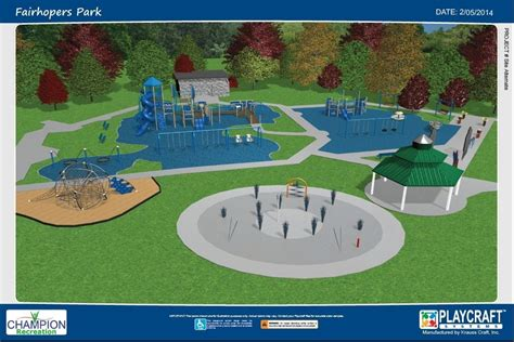 slides for toddlers fairhope park takes shape with playground splash pad