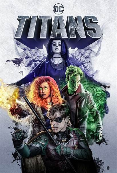 Titans Poster Dc Universe Series Together Week
