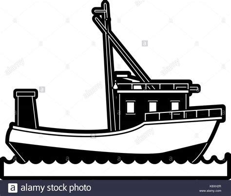 Boat R Icon by Vector Retro Boat Graphics Stock Photos Vector Retro