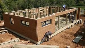 Maison En Bois Tout Compris : maison ossature bois lettonie estonie lituanie youtube ~ Melissatoandfro.com Idées de Décoration