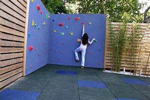 les 25 meilleures idees de la categorie mur d39escalade With idee de cloture exterieur 14 jeux denfants dans le jardin creez un espace adapte