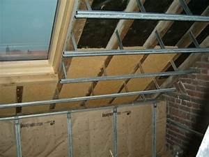 Pose Rail Placo Plafond : pose rail placo sur plafond en pente ~ Dailycaller-alerts.com Idées de Décoration