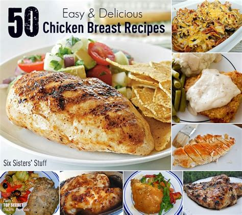 delicious chicken dishes 50 easy and delicious chicken breast recipes diy craft projects