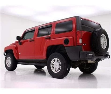 hummer sports car buy used red h3 hummer sports truck 4x4 in carmel maine