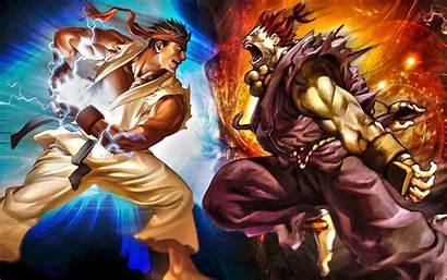 Ryu Akuma Fighter Street Vs Wallpapers Deviantart
