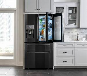 Bringing sexy back to the kitchen samsung39s black for Kitchen colors with white cabinets with where can i buy stickers