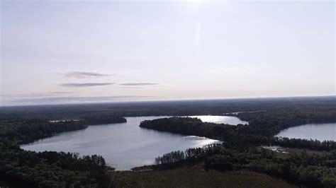 drone video  bond lake  leader lake  minong wi