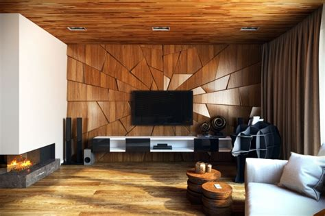 Wohnzimmer Stühle Holz by 63 Wandpaneele Holz Die Den Raum Ganz Individuell