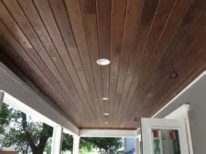 Tongue Groove Ceiling Gloger Construction Outdoor Porch Ceiling Light Fixtures: Types and Uses