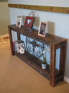 Natural, Reclaimed, Farmhouse, Sofa, Console, Table