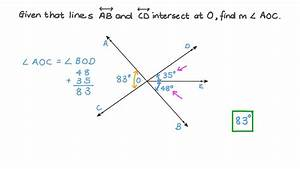 Video  Finding The Measure Of An Angle Using The