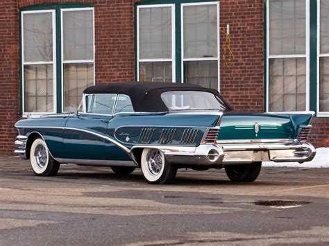 1958 Buick Limited Convertible (756-4867x) Luxury Retro H