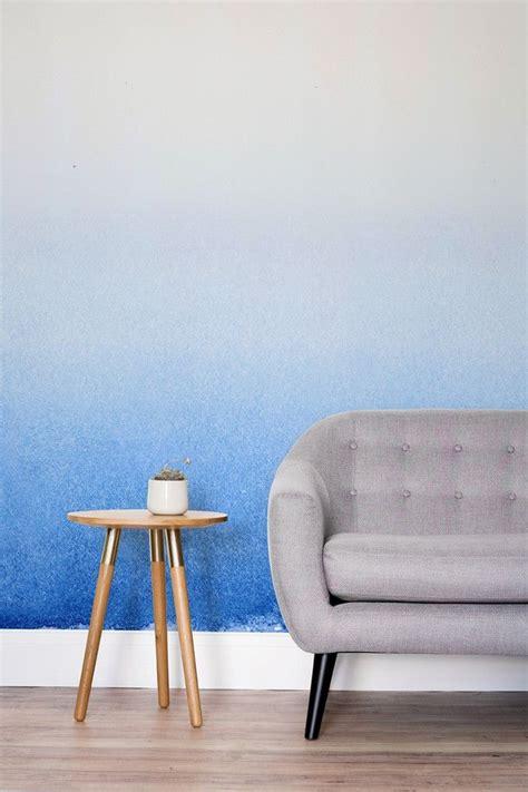 indigo blue ombre wallpaper  bedrooms