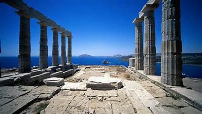 Greek Greece Desktop Ancient Architecture