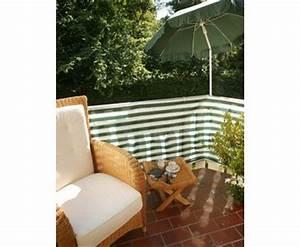 balkonbespannung aus pe material 90x500cm grun weiss hier With markise balkon mit tapeten discount 24