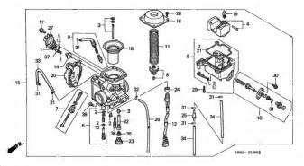 similiar honda 450 es carburetor diagram keywords honda recon carburetor diagram car interior design