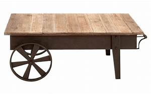 30 inspirations of wheels coffee tables With rustic coffee table with casters
