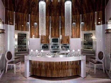 luxury kitchen designs   chandelier