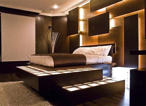 Bedroom Stunning Post Modern Real Genuine Leather With