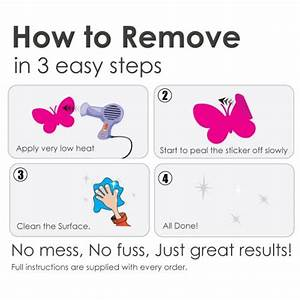 How to remove wall decals roselawnlutheran for How to removing wall decals