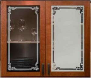 etched glass kitchen cabinet doors cabinet glass insert sans soucie glass 8879