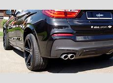 Dyamisches Duo Sports Activity Coupé BMW X4 mit Oxigin 18