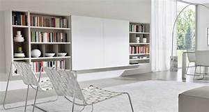 Grande Bibliothèque Murale : biblioth que suspendue murale et design pour vos livres ~ Teatrodelosmanantiales.com Idées de Décoration