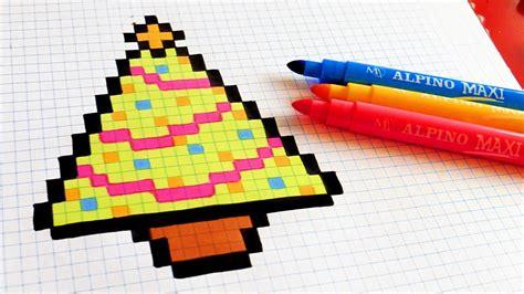mari ferrari hello hello letra handmade pixel art how to draw christmas tree pixelart