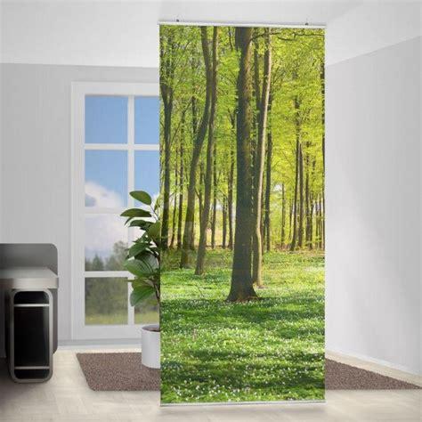 Raumteiler Vorhang Ideen by Raumteiler Waldwiese 250x120cm Raumteiler Raumteiler