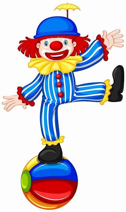 Clown Ball Clip Thespian Vector Symbol Colourful