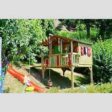 Kinderspielhaus Im Garten Tipps Zur Einrichtung & Dekoration