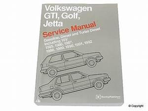 Bentley Repair Manual Vw Mk2 Golf  Jetta 8v  16v 1985