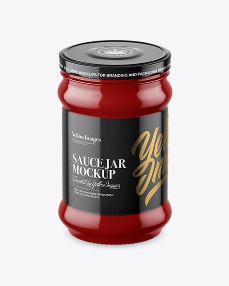 We have a rich list of different amazing bottle mockups for your design works. Download Glossy Sauce Jar Mockup (High-Angle Shot) Object ...