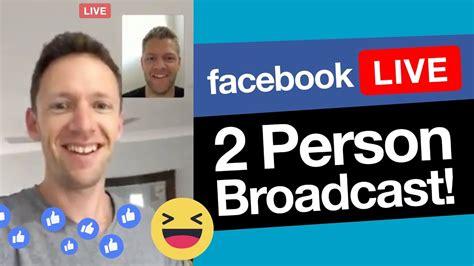 facebook   multiple presenters     person