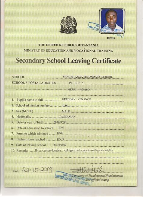 application letter format college leaving certificate