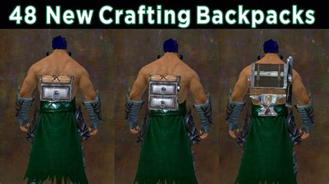 guild wars 2 crafting 48 new crafting backpacks guild wars 2 4587