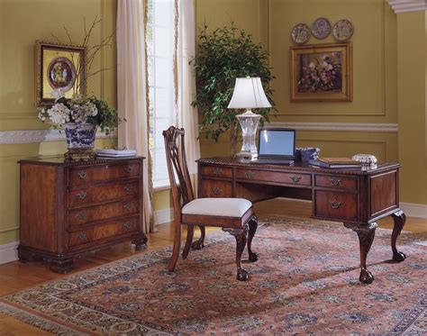 ball claw desk  hooker furniture  hooker office desks
