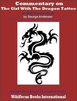 girl   dragon tattoo  wikifocus book  george andersen reviews discussion
