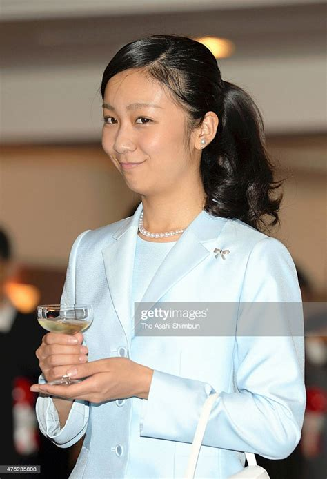 Princess Kako of Akishino attends the reception after the ...