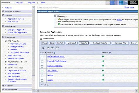 Websphere Commerce Administrator Resumes by Enabling Jms For Web Services