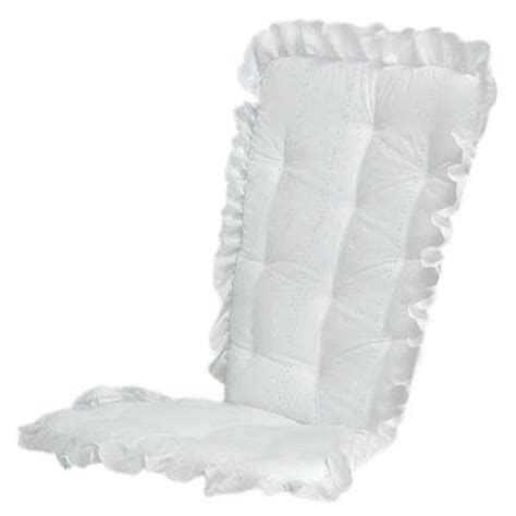 baby doll bedding carnation eyelet rocking chair cushion